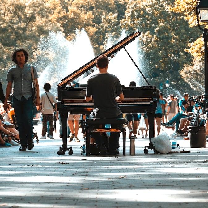 Pianospelen online pianoles